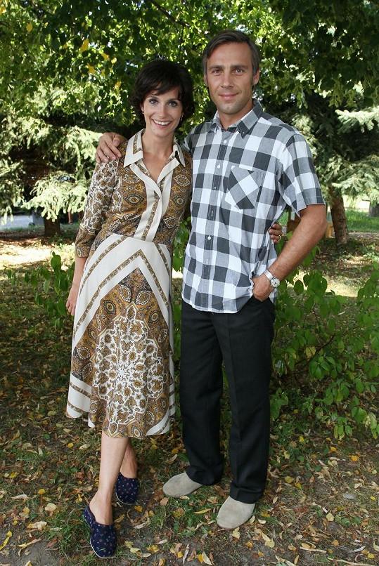 Hana Vagnerová a Roman Vojtek nechybí v nové řadě seriálu Vyprávěj.