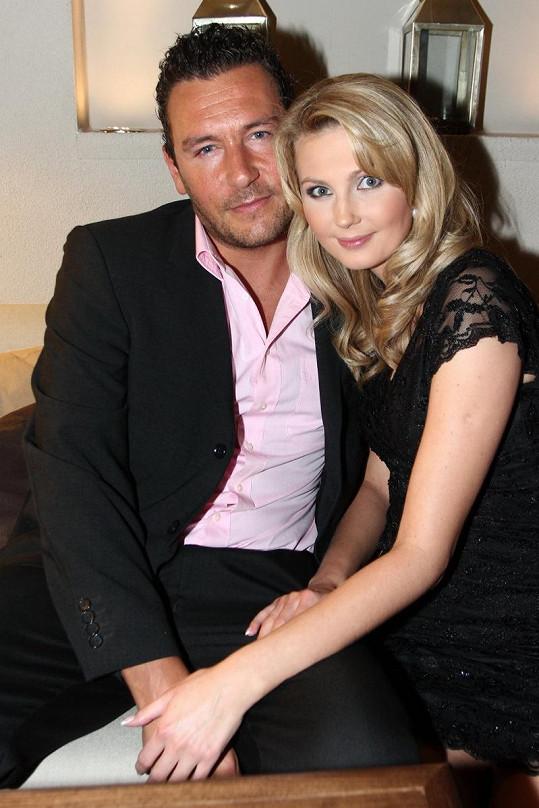 Sandra Parmová s přítelem Michalem Janotkou.
