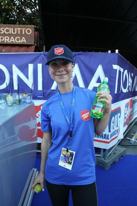 Šárka Ullrichová běžela maraton.