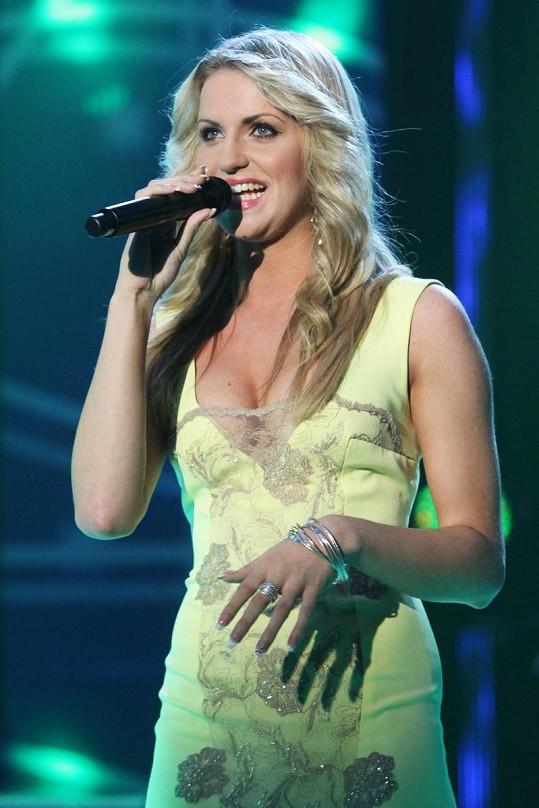 A takto vypadá Gabriela Gunčíková na koncertě.