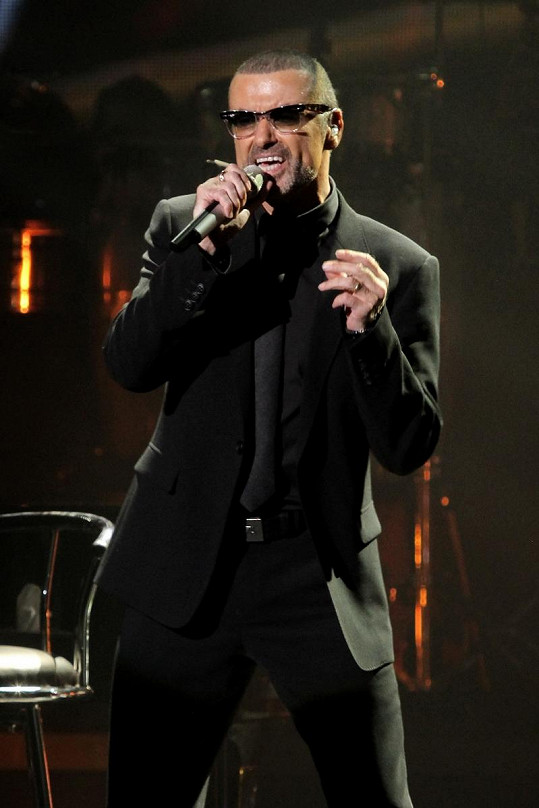 George Michael v Praze.