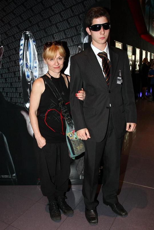 Dana Batulková na premiéře filmu.