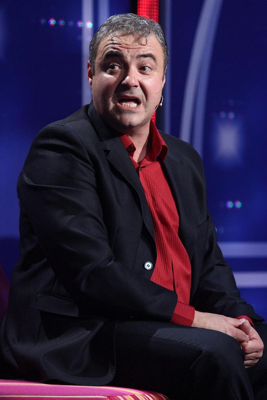 Martin Zounar zkolaboval při představení.