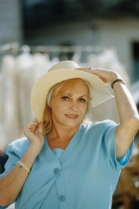 Michèle v roce 1997.