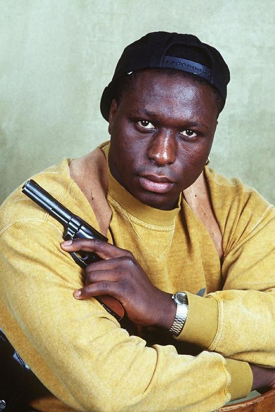 Mouss Diouf alias inspektor N'Guma v roce 1990.