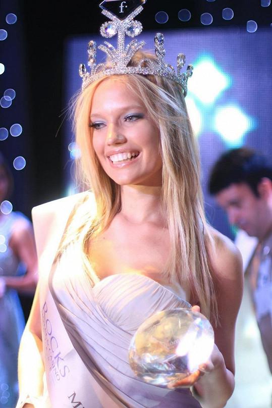 Kristýna zvítězila v mezinárodní soutěži Miss Fashion TV 2012.