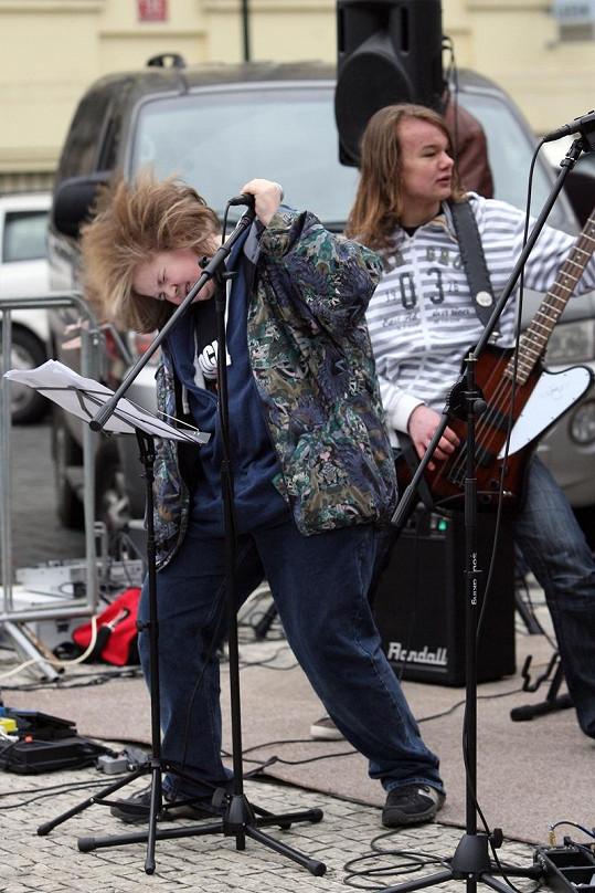 Artur a jeho první rockový koncert