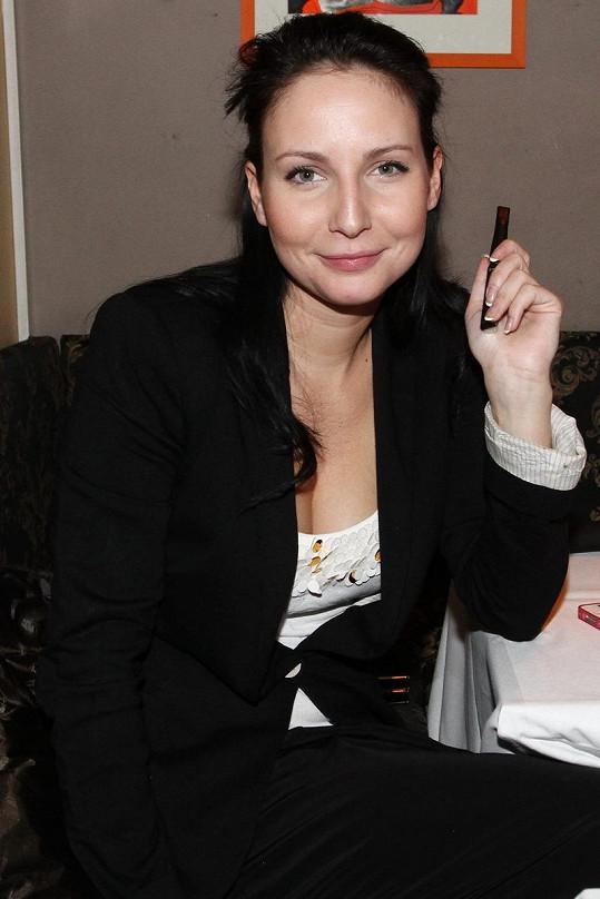 Veronika Nová v civilu
