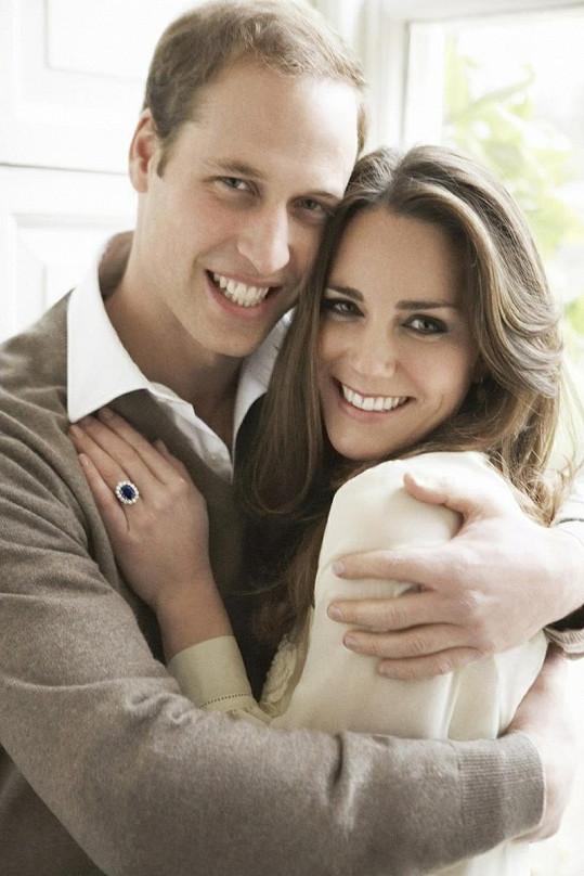 Williama a Kate ještě jako nesezdaný pár.