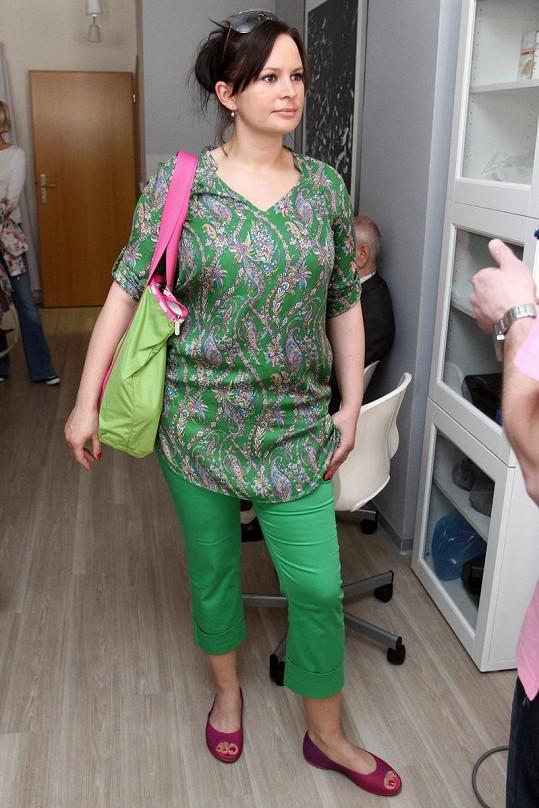 Jitka Čvančarová vypadá dva měsíce po porodu skvěle.