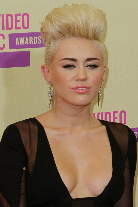 Miley Cyrus na MTV Video Music Awards.