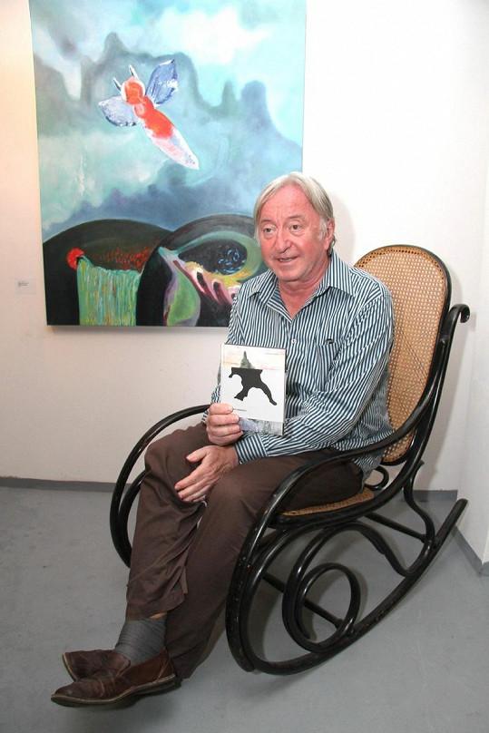 Jiří Lábus křtil nové vydání knihy Alfréda Jarryho.