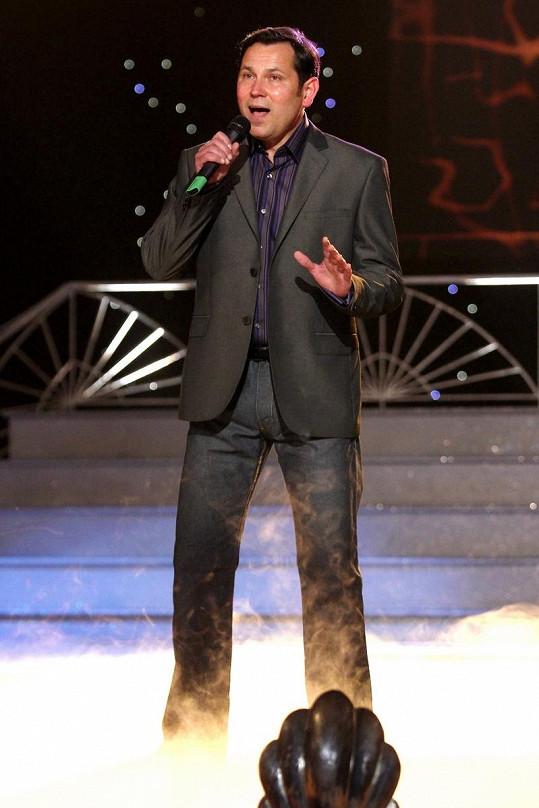 Pavel Vítek si cenu sice neodnesl, zato svým zpěvem potěšil diváky nejen v sále, ale i u televizních obrazovek.