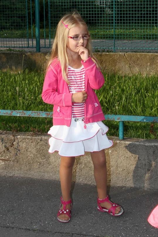 Kordulka se do první třídy vymódila.