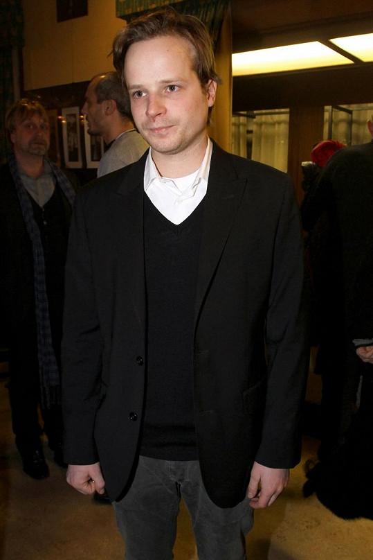 Kryštof Hádek na premiéře svého nového filmu.