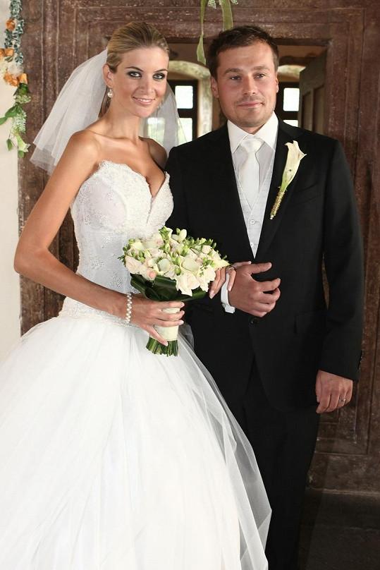 Iveta Lutovská a Jaroslav Vít se vzali v září 2011.