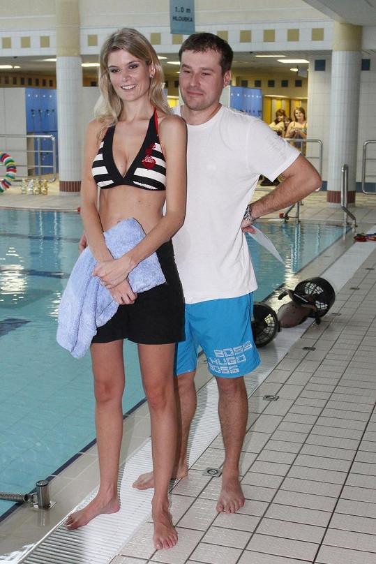 Iveta Lutovská s manželem Jaroslavem Vítem.