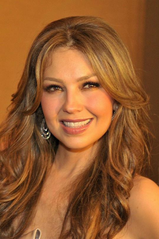 Mexický původ krásná zpěvačka nezapře.