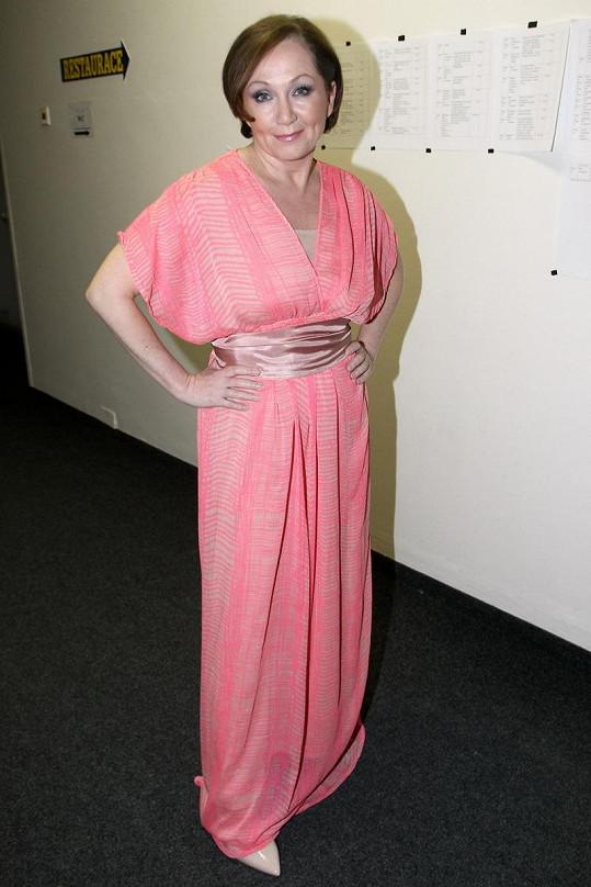 Bára Basiková jako Máří Magdaléna.