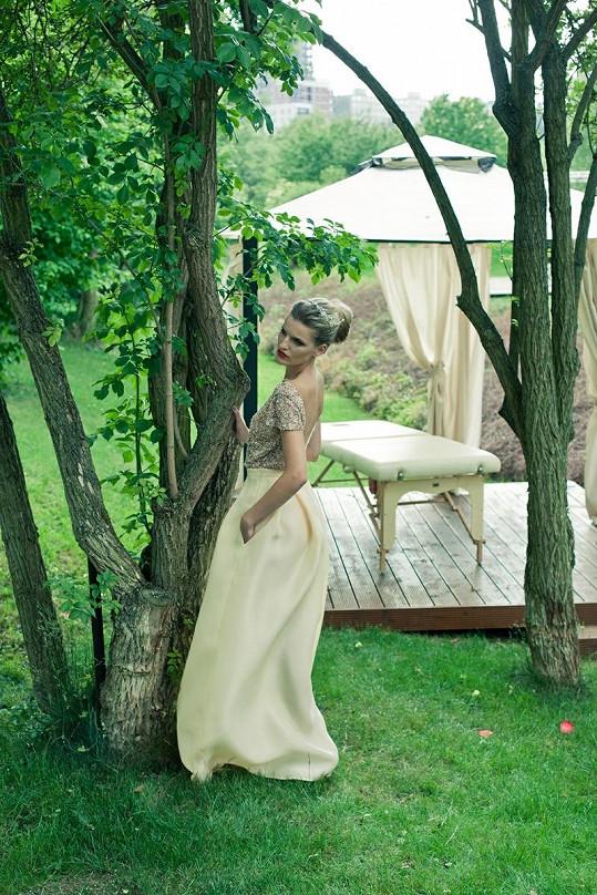 Modelka Veronika Procházková si splnila svůj sen. Nafotila kampaň pro Rajskou.