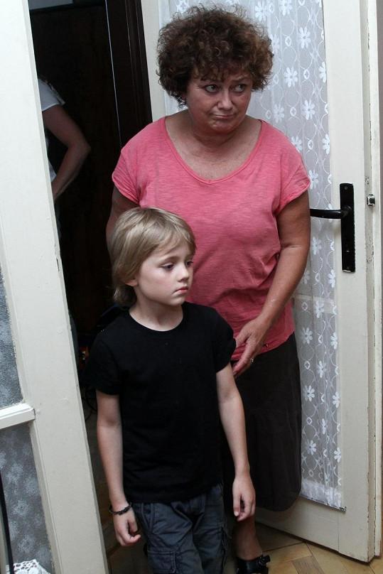 Jana v seriálu Cesty domů.