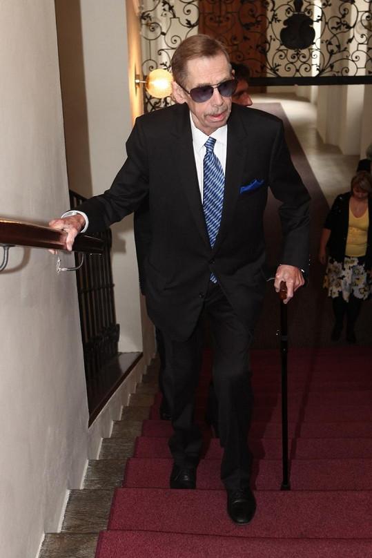Čestné občanství získal i elegán Václav Havel.
