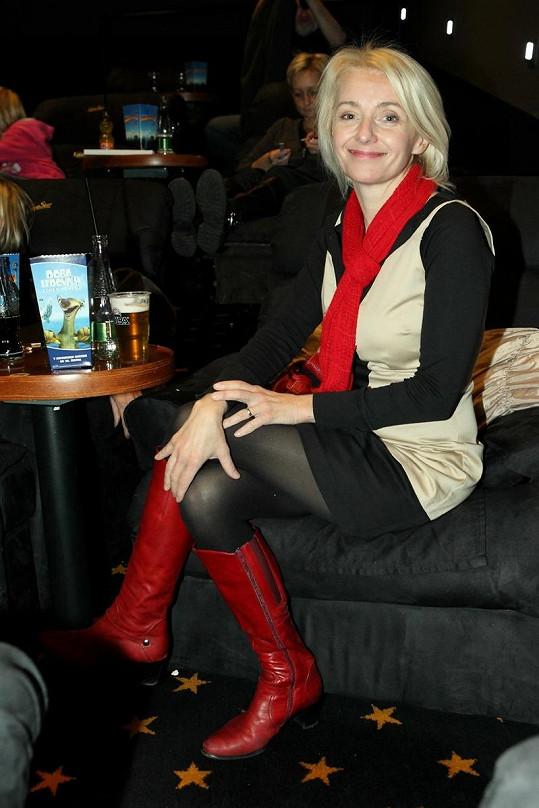 Veronika Žilková ještě nějakou chvíli v divadle nevystoupí.