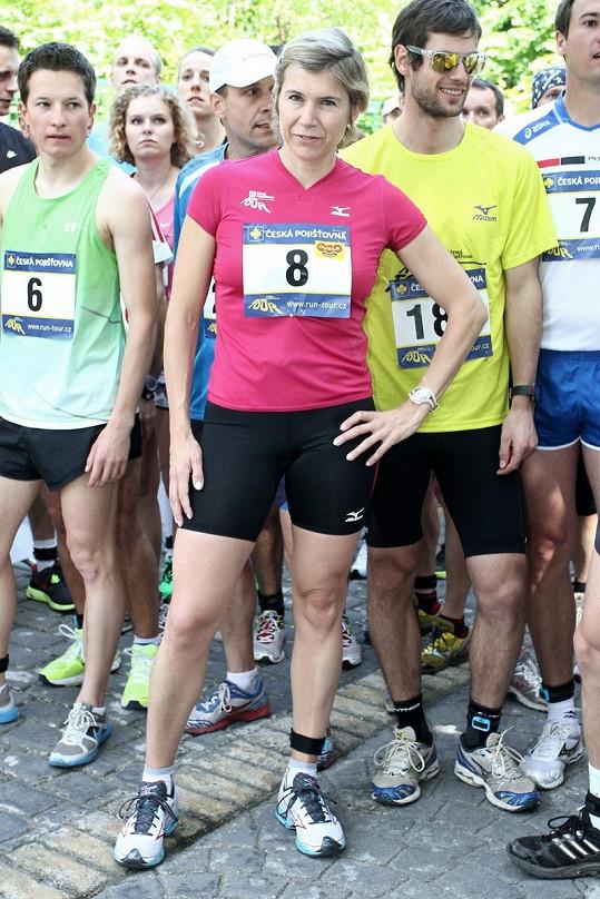 Kateřina Neumannová má pořádně vypracované nohy.