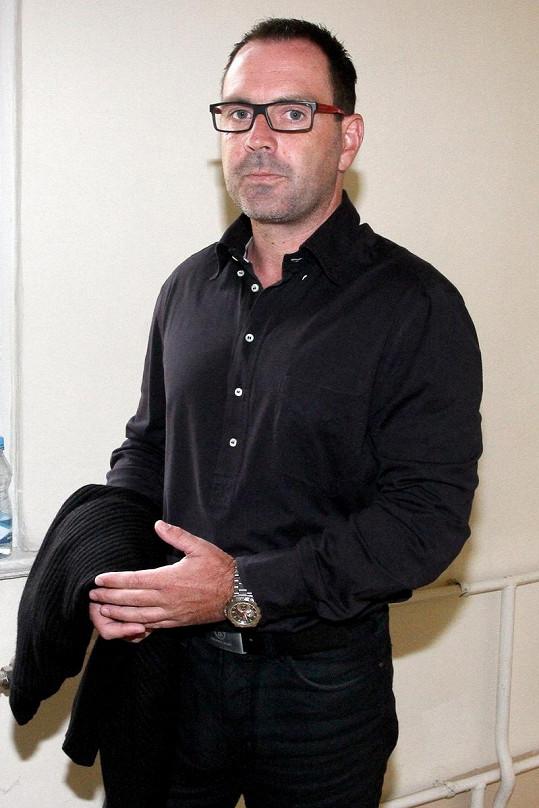Televizní milionář Červín považuje soudní jednání za jednu velkou křivdu.