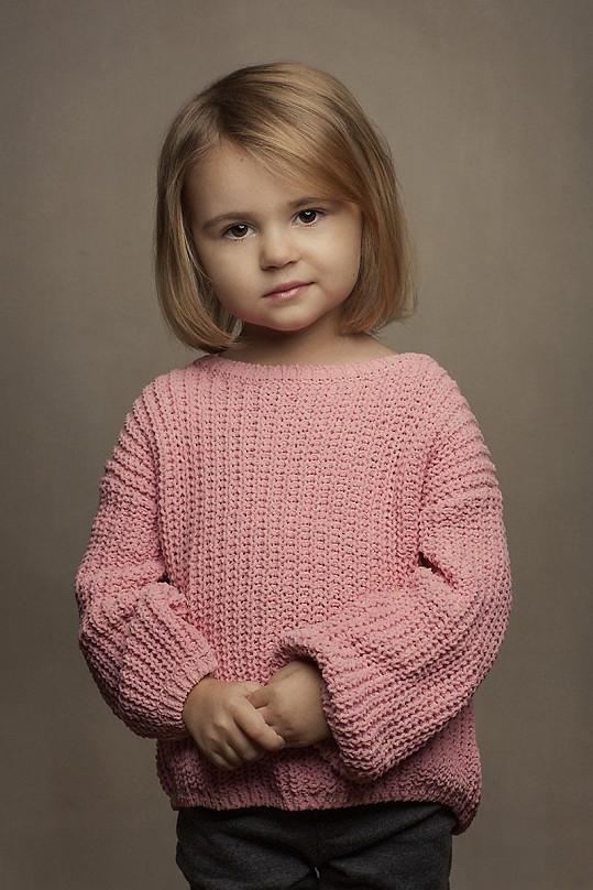 Lola Křížková je neuvěřitelně roztomilá.