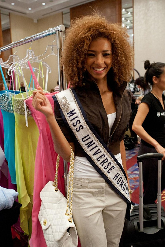 Miss Honduras Keilyn Gomez.
