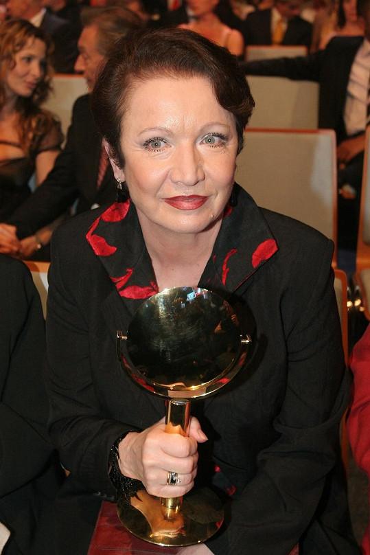 Hana Maciuchová patří ke stálicím seriálu Ulice.