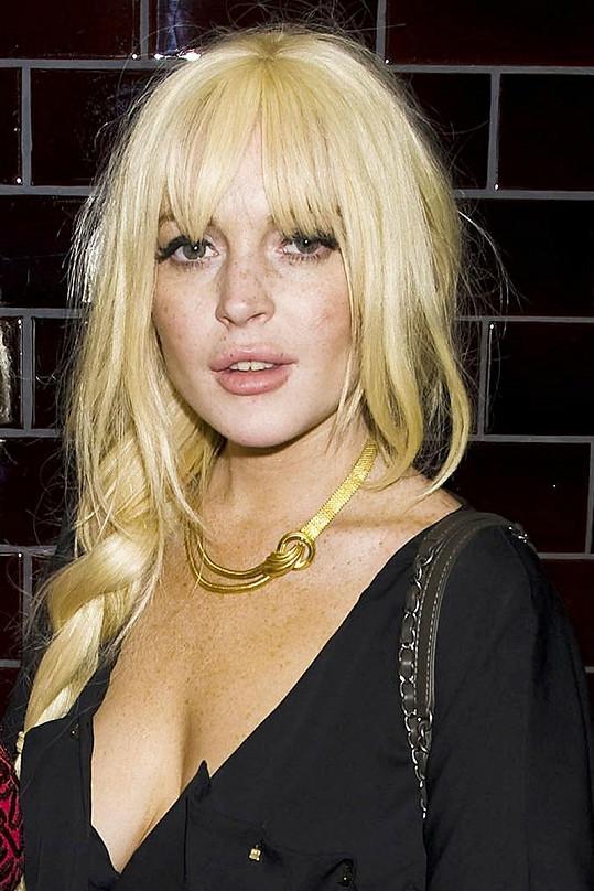 Lindsay Lohan se umístila na prvních příčkách nelichotivé ankety.