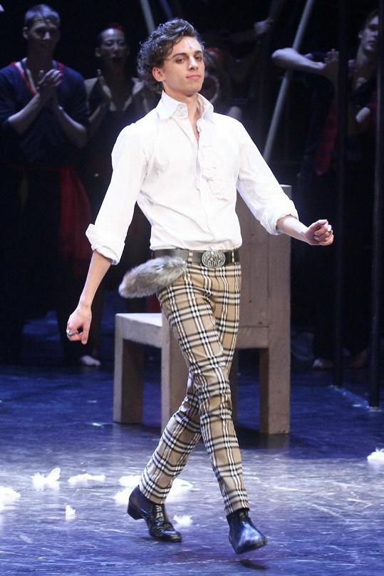 Jan Cina v seriálu První krok