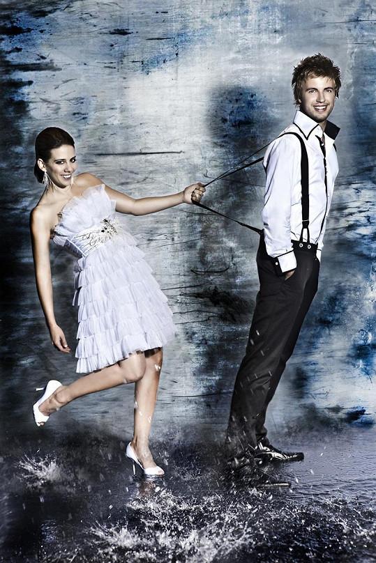 Tanečníka Michala Kurtiše si nakonec převzala Aneta Langerová.