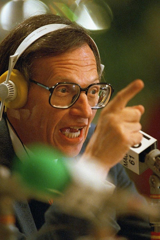 Larry King v začátcích své kariéry.