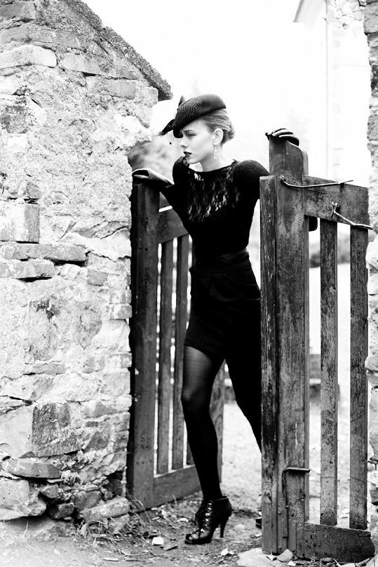 Veronika Machová fotila na hřibově.