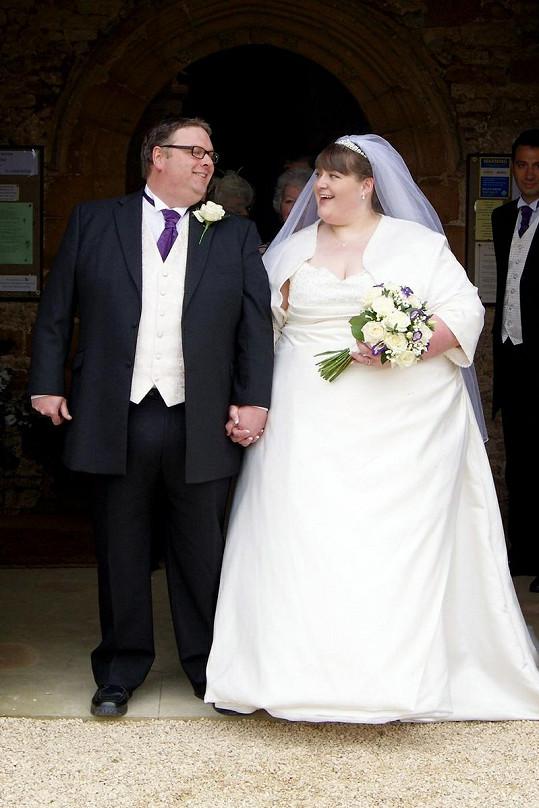 Sharon Hill a Andrew Flabby dohromady váží přes 350 kilogramů.