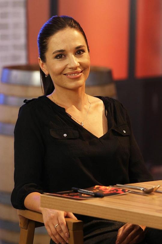 Michaela Kuklová byla jedním z hostů soutěžících kuchařů.