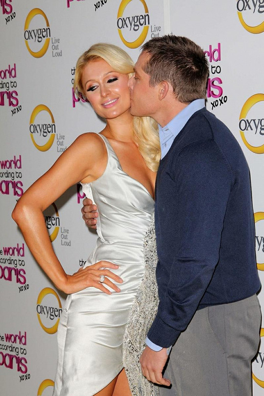 Paris Hilton a Cy Waits byli krásný pár.