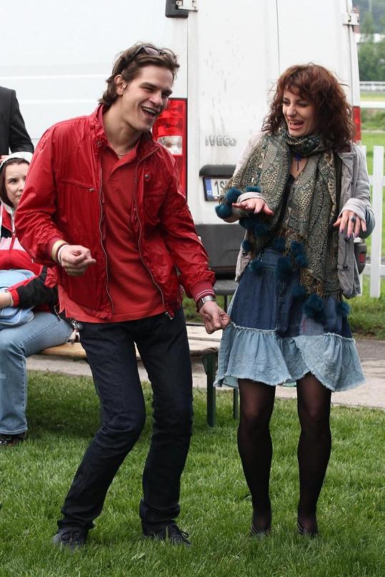 David Kraus a Markéta Procházková vypadali velmi šťastně.