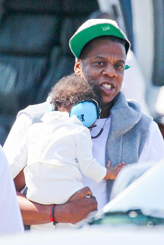 Jay-Z s dcerkou Blue Ivy.