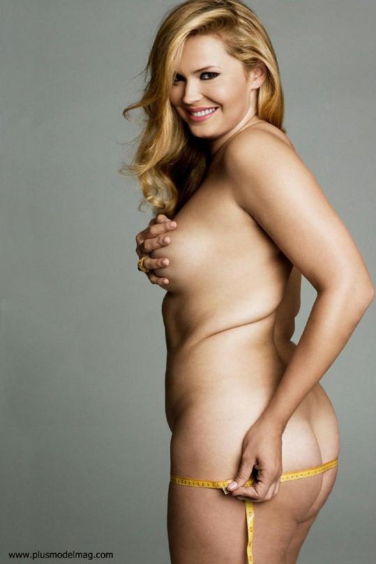 Ruska Katya Zharkova je hrdou modelkou nadměrných velikostí.
