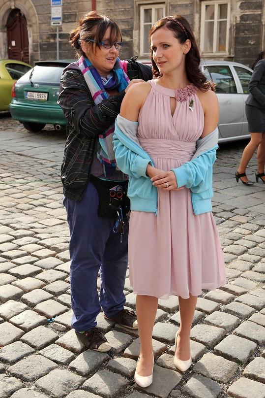 Kristýna Nováková-Fuitová si ve filmu Líbánky zahraje sestru Ani Geislerové.
