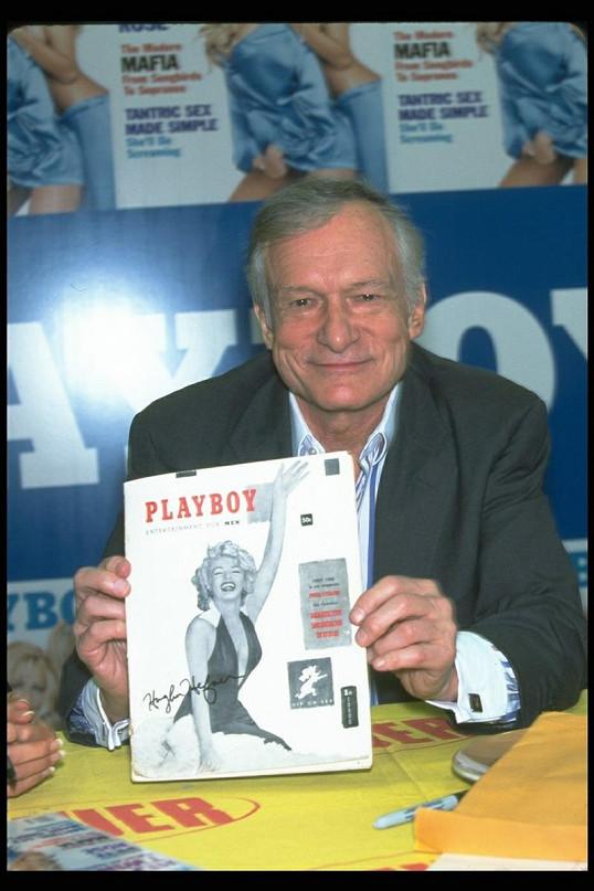 Nezapomenutelná Marilyn odstartovala slávu Hugha Hefnera a jeho pánského časopisu.