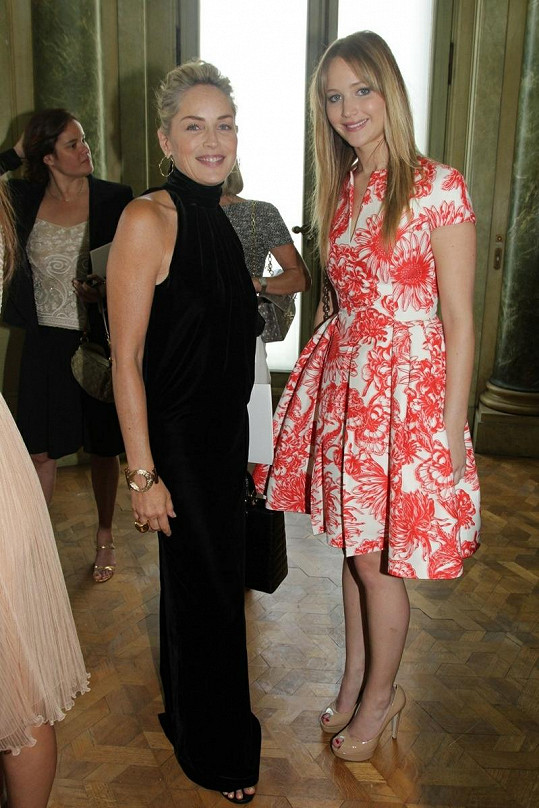Sharon Stone s Jennifer Lawrence.