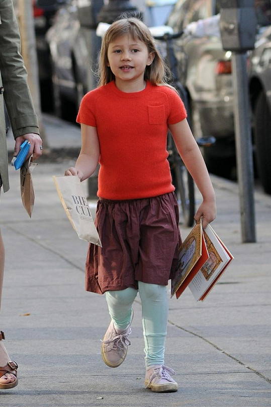 Matilda roste do podoby svého otce Heatha Ledgera.