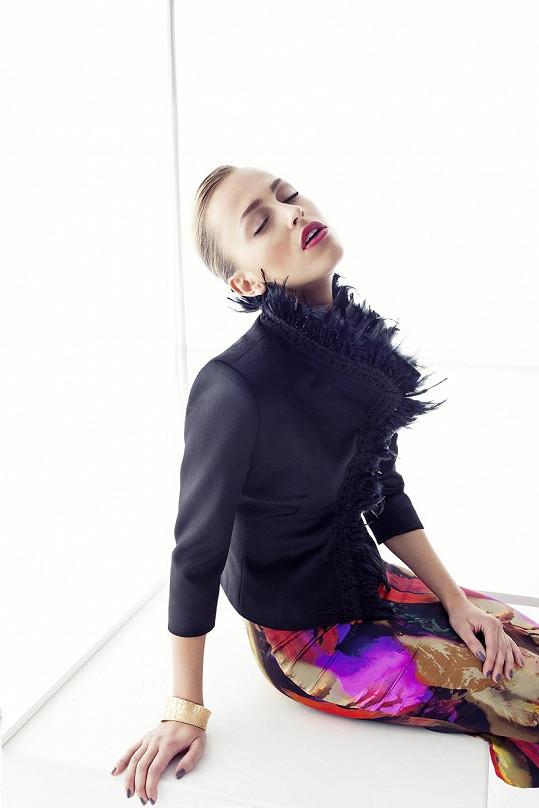Takhle sexy vypadá Renata na fotkách Marka Musila.