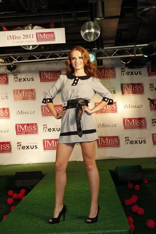 Kateřina Kubačková si podmanila porotu roztomilostí. Na hlavní titul ale nedosáhla.