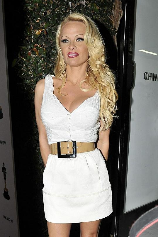 Ačkoliv měla hvězda Pobřežní hlídky krásné šaty, make-upem celkový vzhled pokazila.